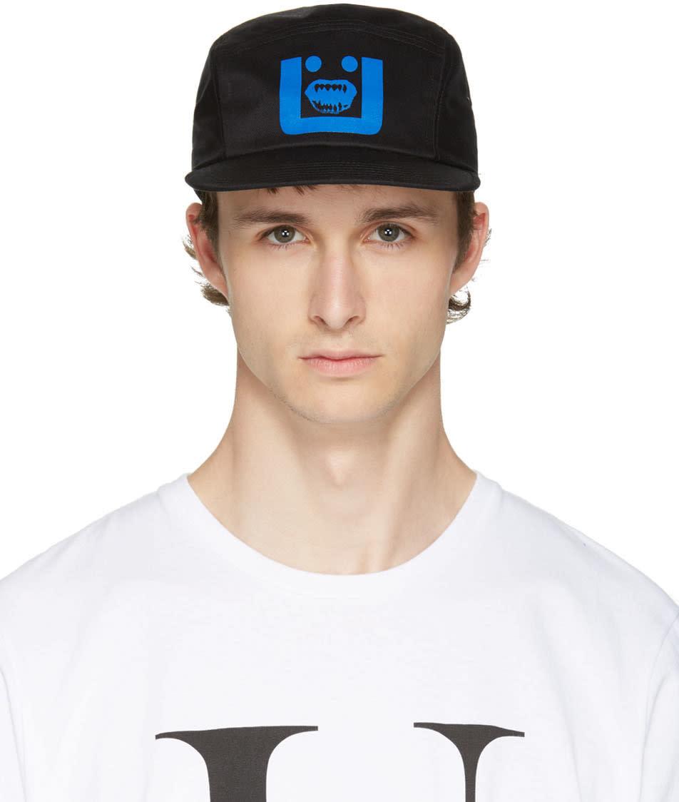 Undercover Black U Face Cap