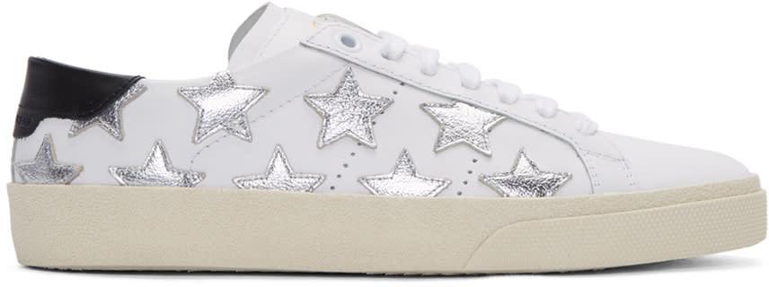 Saint Laurent Off-white Court Classic Sl-06 California Sneakers