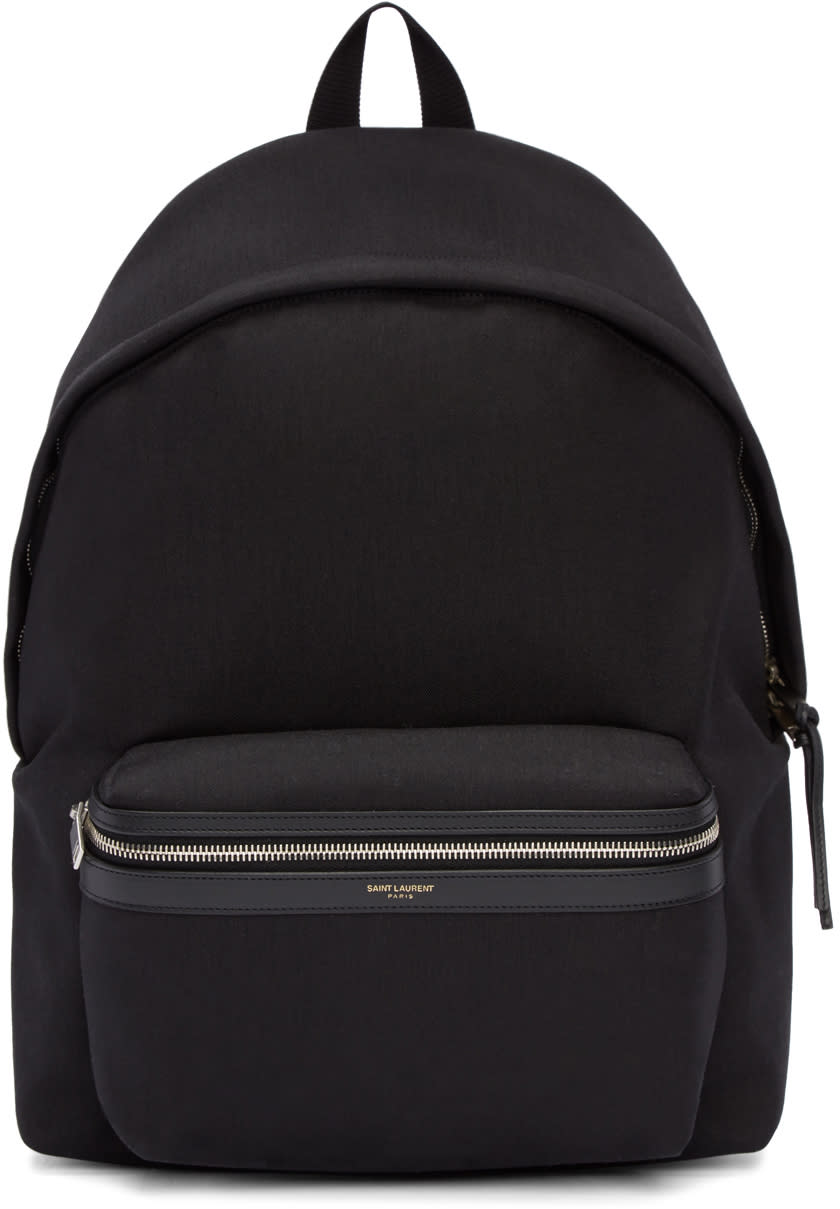 Black Classic City Backpack