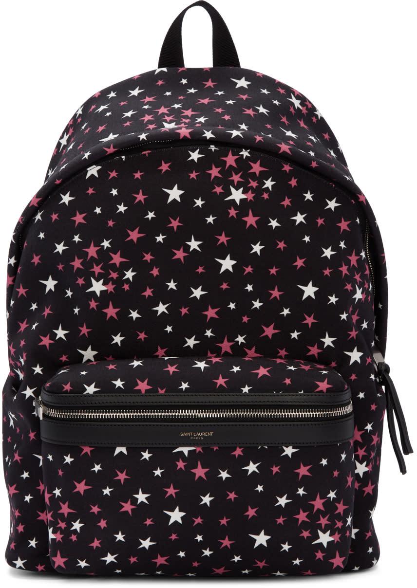 Black Stars City Backpack