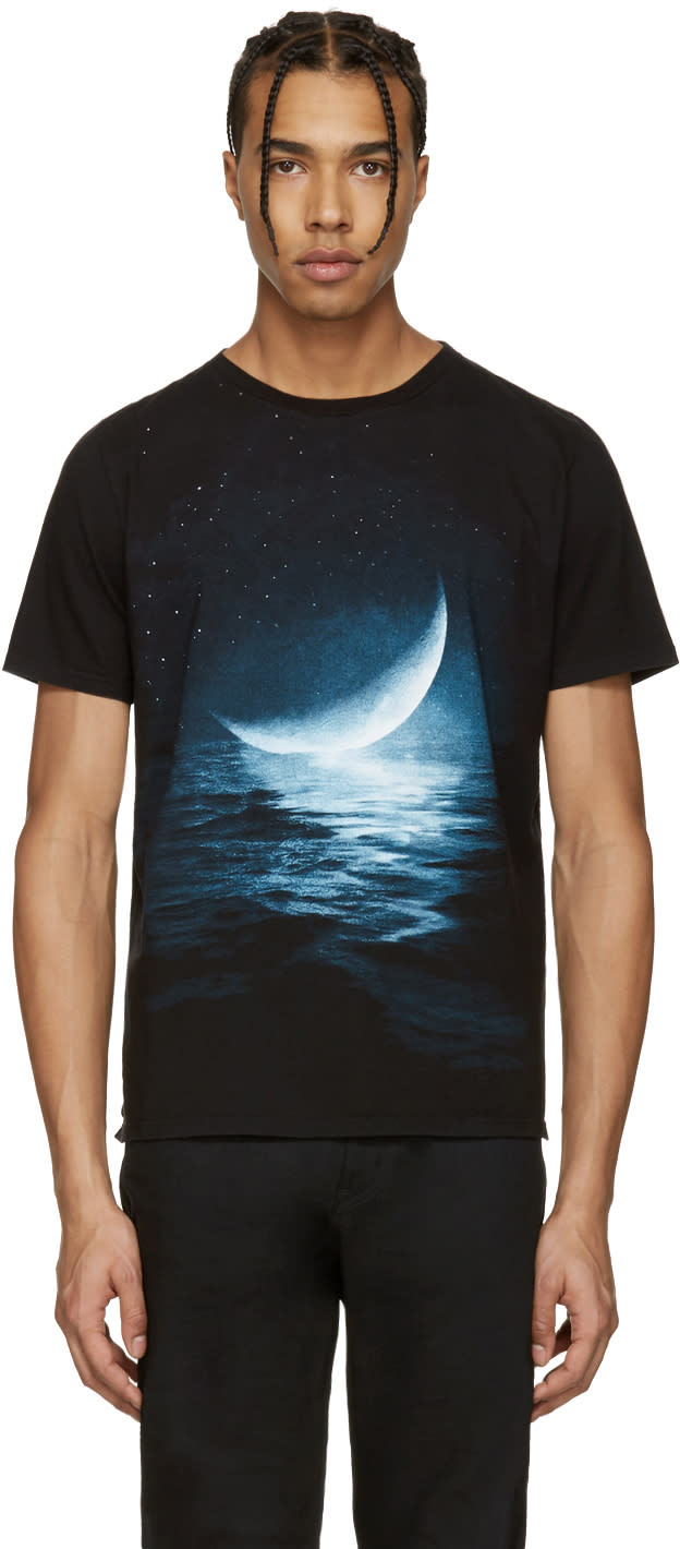 Saint Laurent Black Moon T-shirt