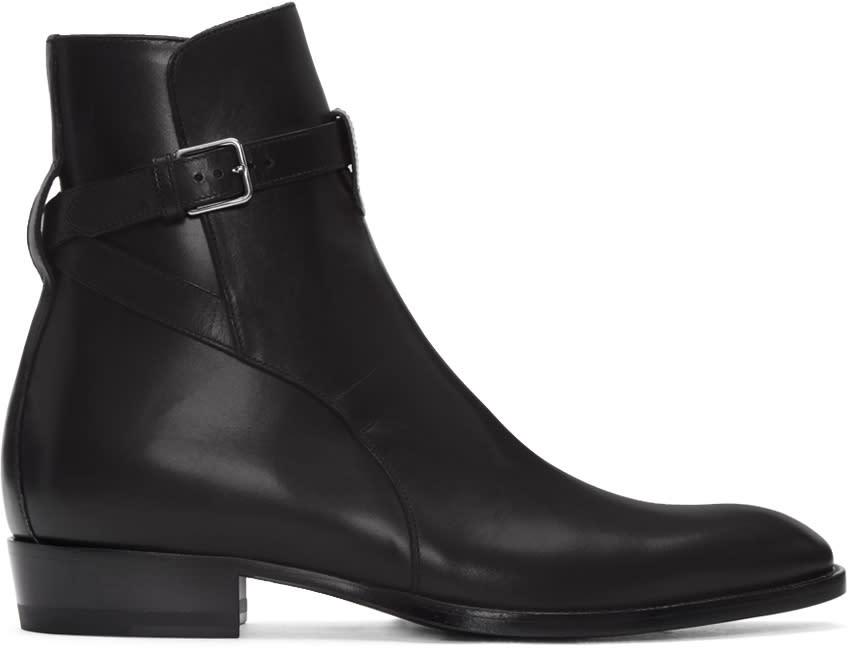 Black Wyatt Jodhpur Boots
