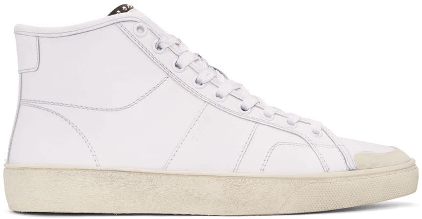 White Sl-37m Court Classic Sneakers