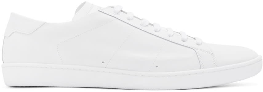 Saint Laurent Off-white Court Classic Sl-01 Sneakers
