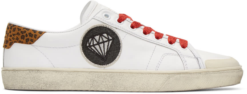 White Diamond Sl-37 Surf Court Classic Sneakers