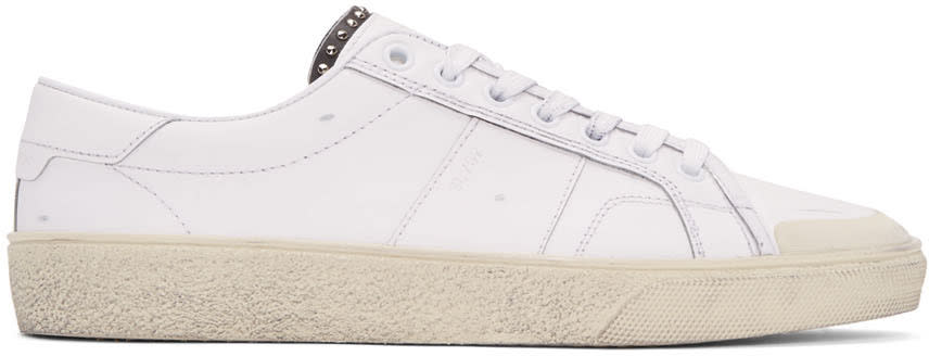 Off-white Leather Sl-37 Court Classic Sneakers