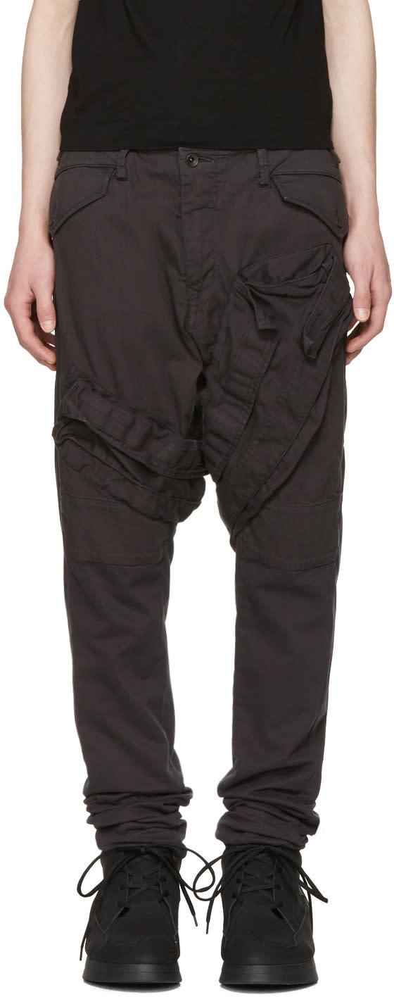 Julius Grey Signature Cargo Pants