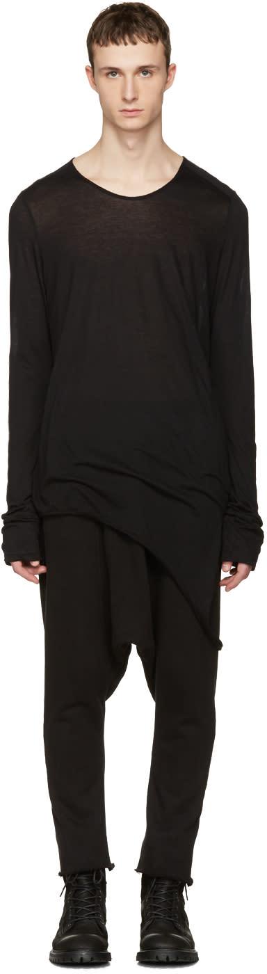 Julius Black Suspend Cut and Sewn T-shirt