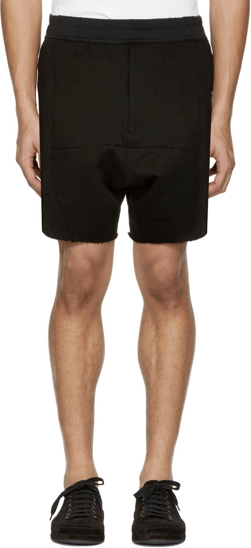 Julius Black dust Shorts