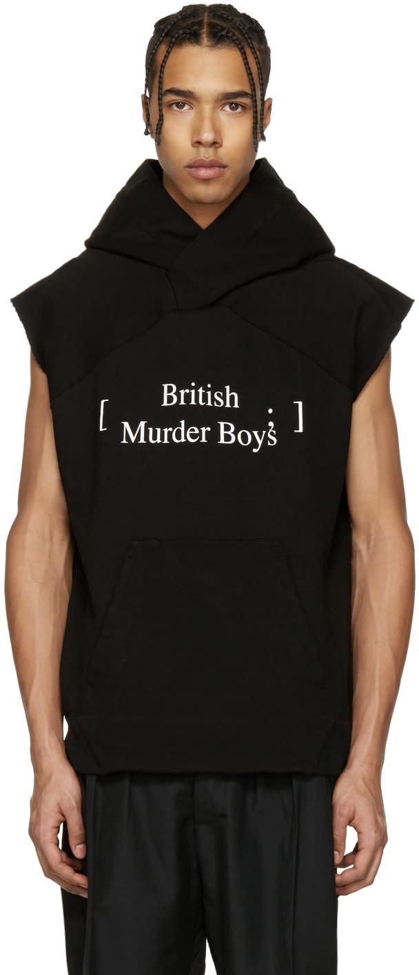 Julius ブラック British Murder Boys フーディ