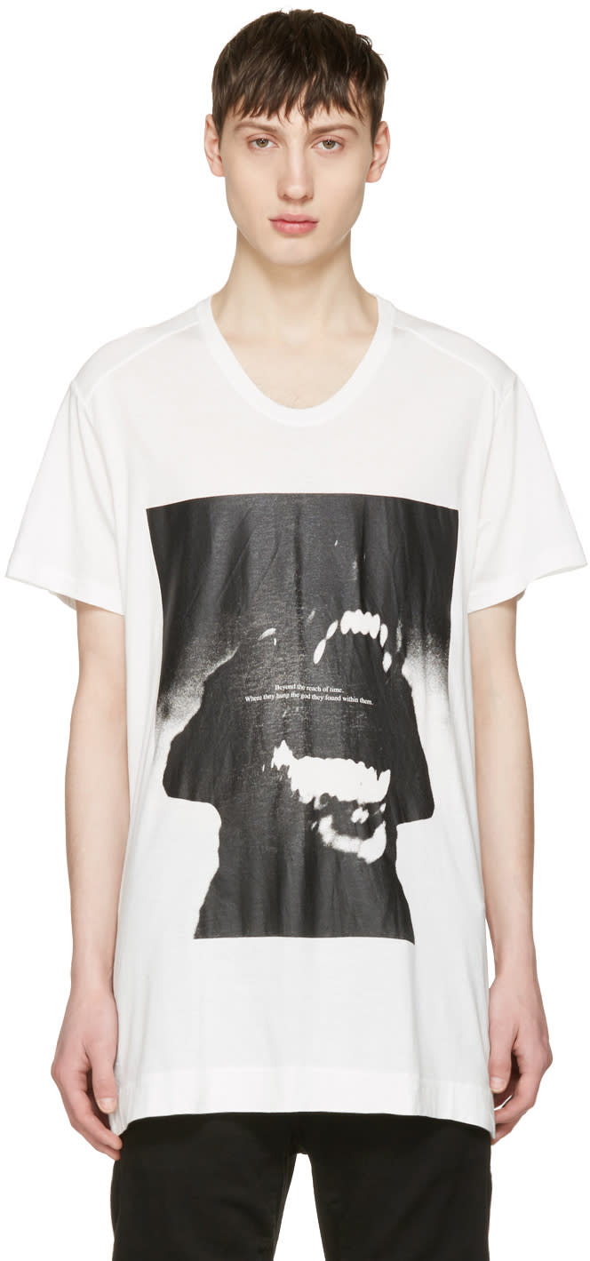 Julius White Dog T-shirt