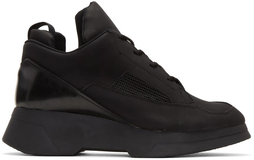 Julius Black Coated Sneakers