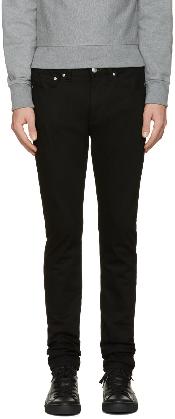 Ps By Paul Smith Black Slim Jeans