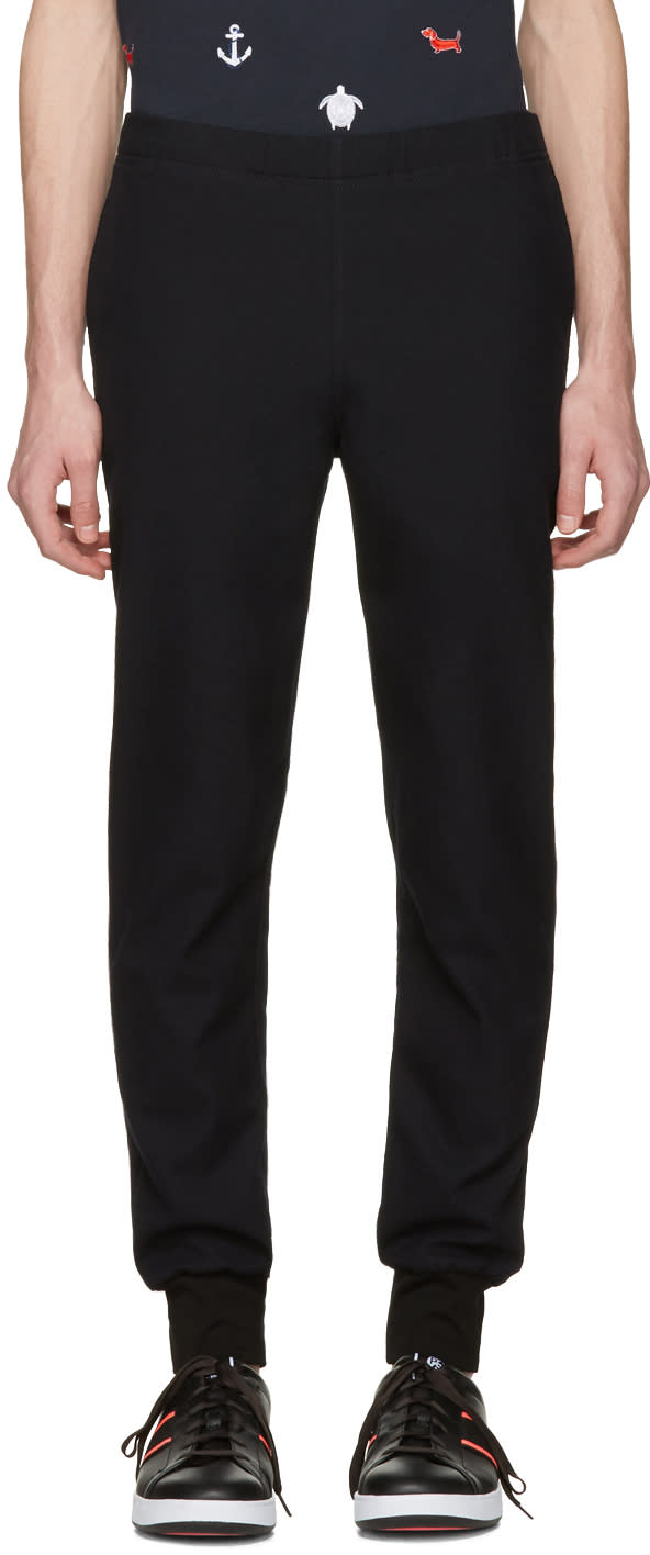 Ps By Paul Smith Navy Jogger Trousers