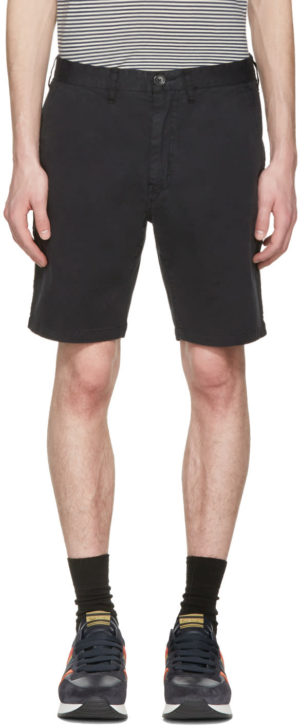 Ps By Paul Smith Black Standard Fit Shorts