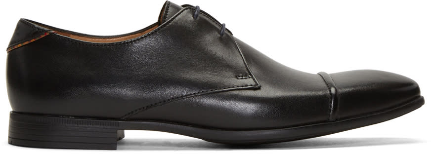 Ps By Paul Smith Black Robin Oxfords
