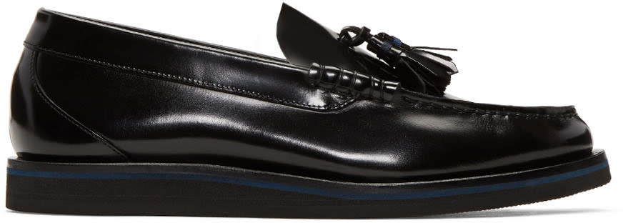 Ps By Paul Smith Black Patent Carver Loafers