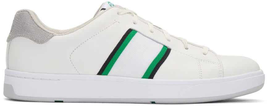 Ps By Paul Smith White Lawn Sneakers