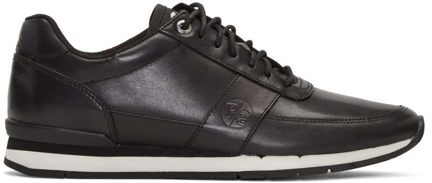 Ps By Paul Smith Black Swanson Sneakers