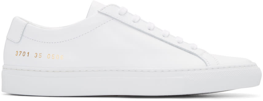 Woman By Common Projects White Original Achilles Sneakers