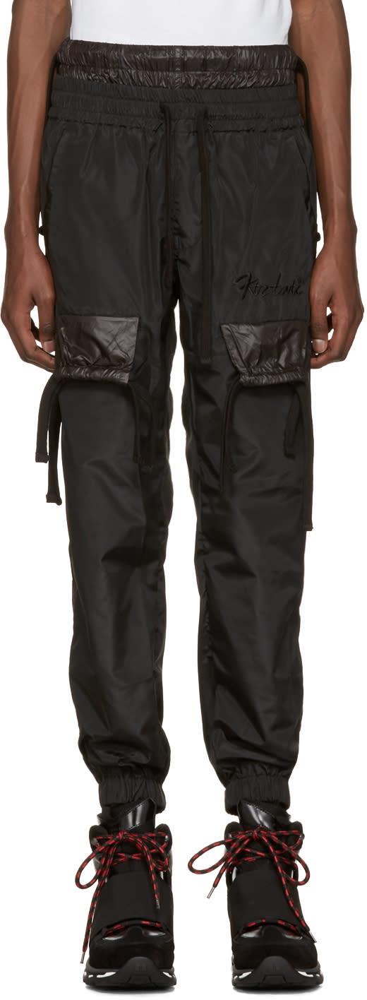 Ktz Black Jogger Trousers