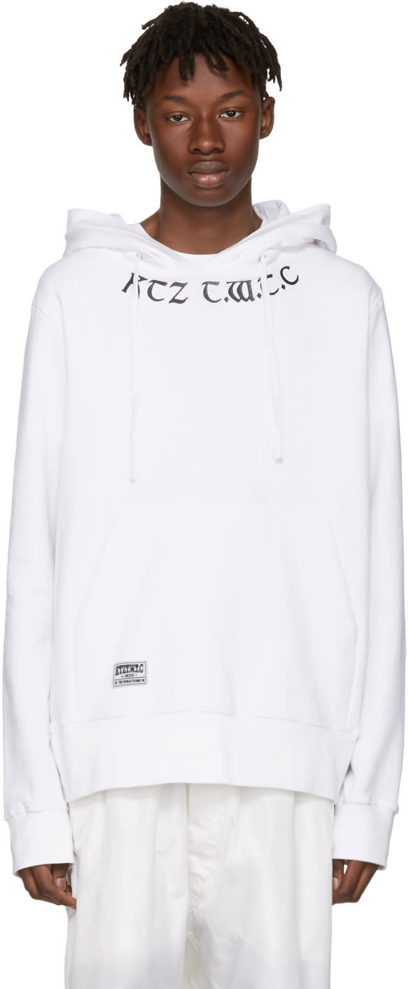 Ktz White the World To Come Hoodie