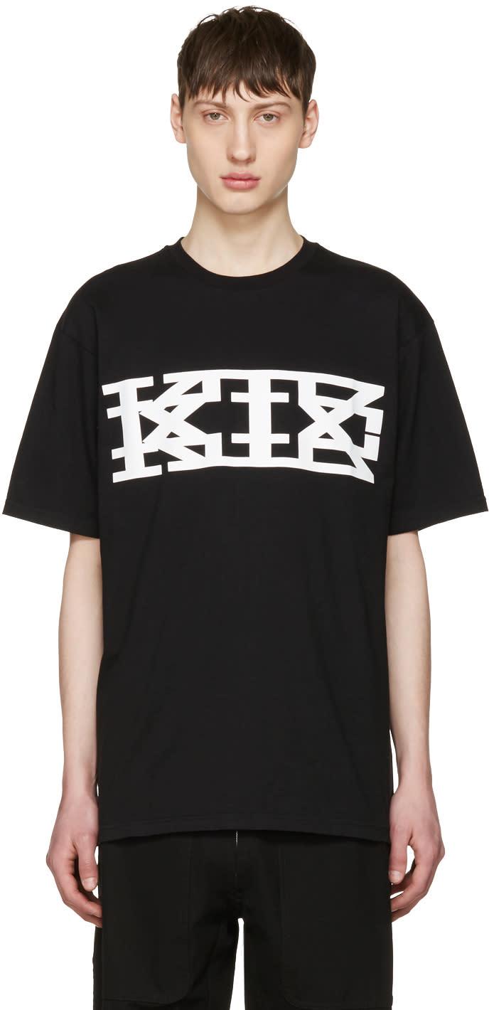 Ktz Black Classic Logo T-shirt