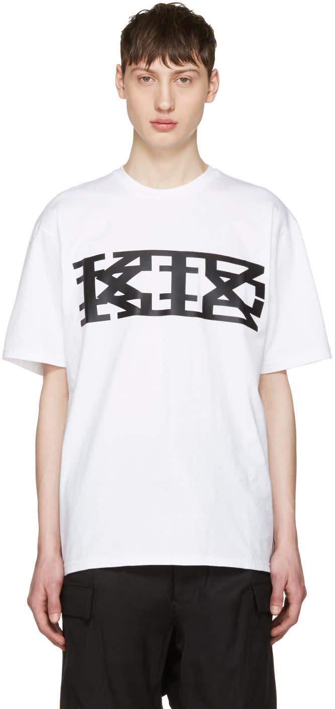 Ktz White Classic Logo T-shirt