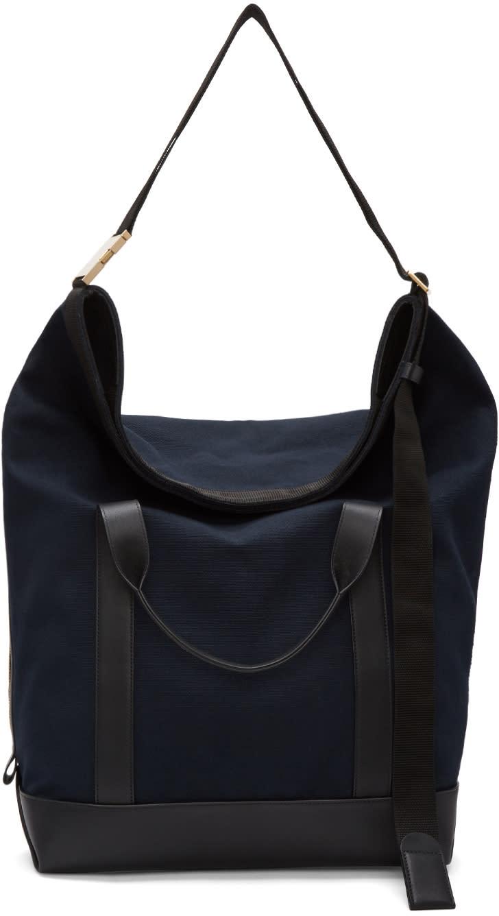 Sacai Navy Laundry Travel Bag