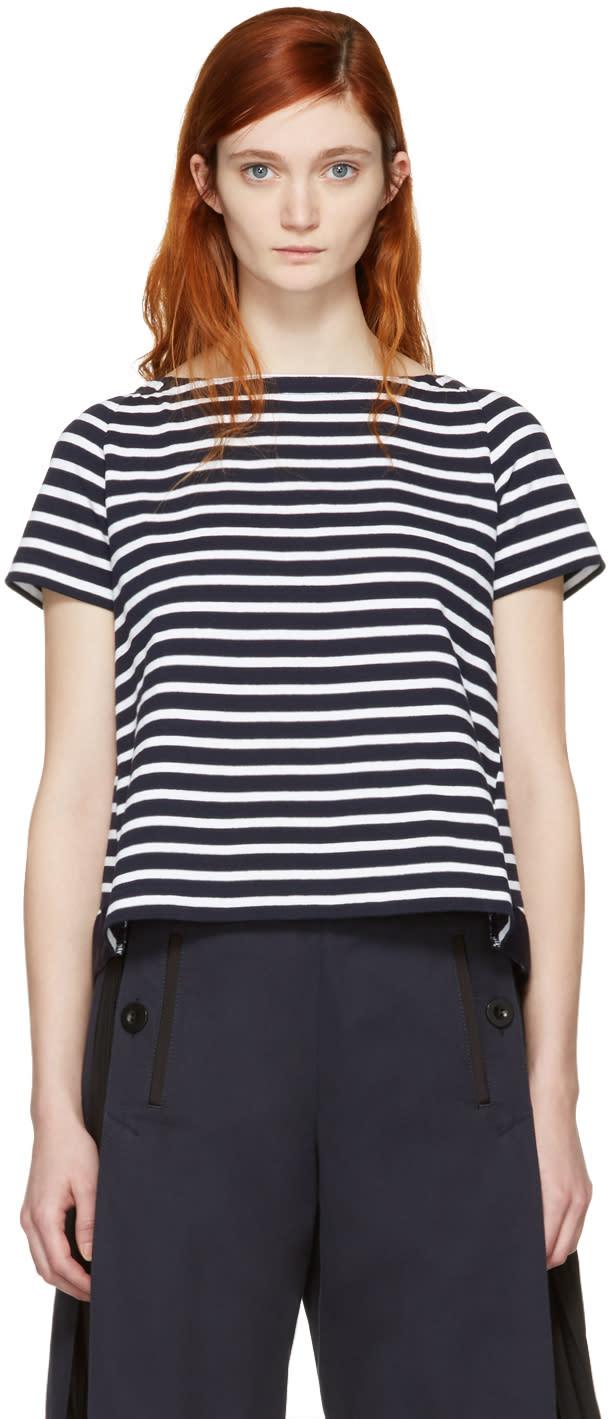 Sacai Navy Striped Dixie T-shirt