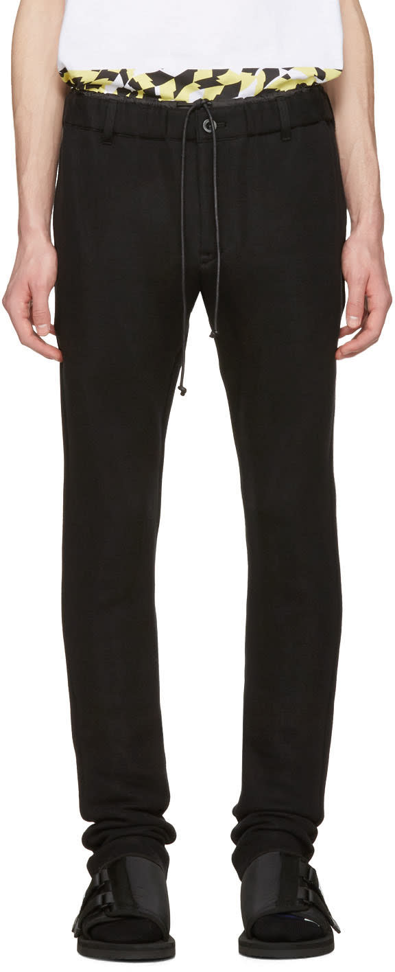 Sacai Black Sweats Lounge Pants