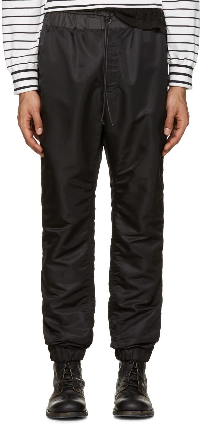 Sacai Black Ma-1 Trousers