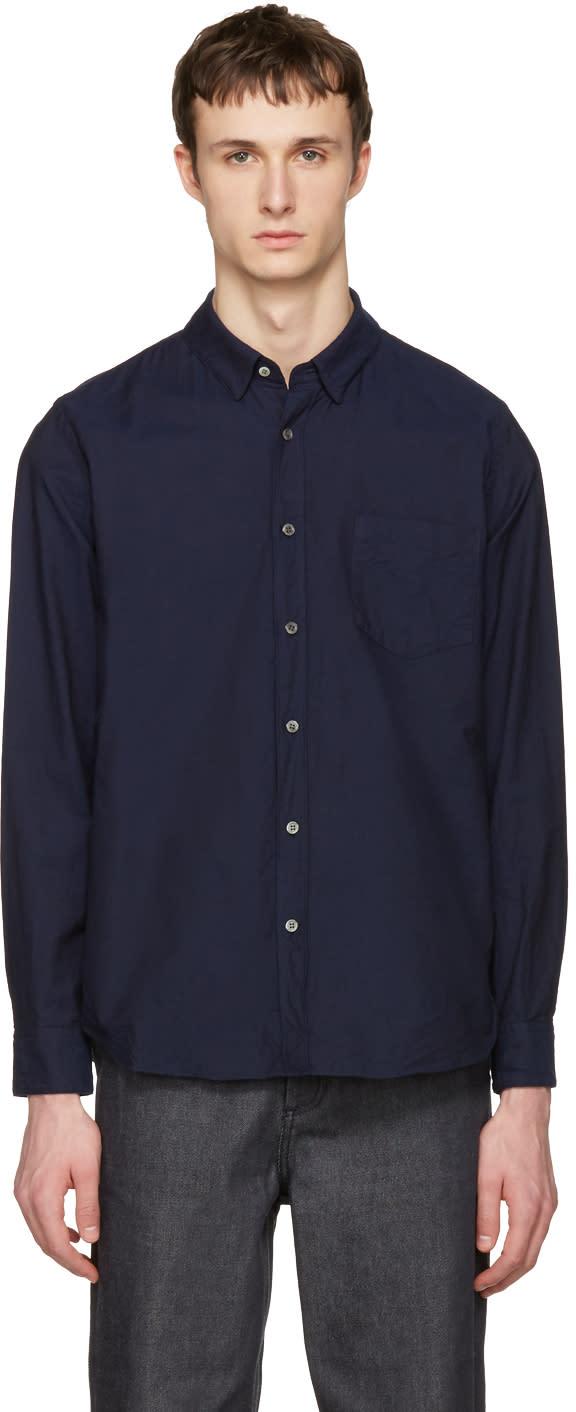 Sacai Navy Oxford Shirt