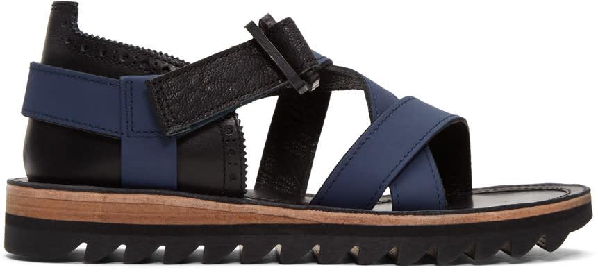 Sacai Navy Hender Scheme Edition Strap Sandals