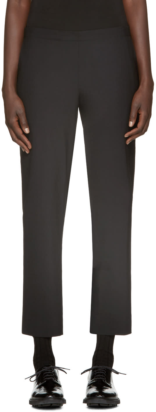 Image of 6397 Black Pull On Trousers