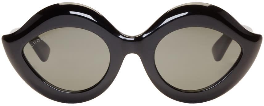 Gucci Black Cat Eye Sunglasses