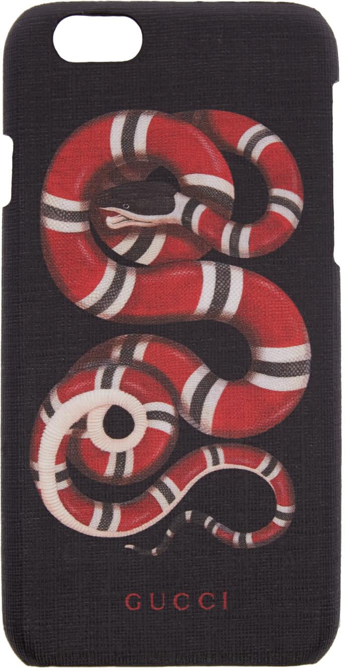 gucci female gucci black snake iphone 6 case
