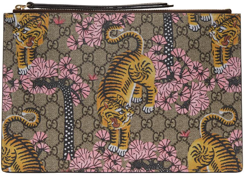 gucci female gucci multicolor bengal pouch