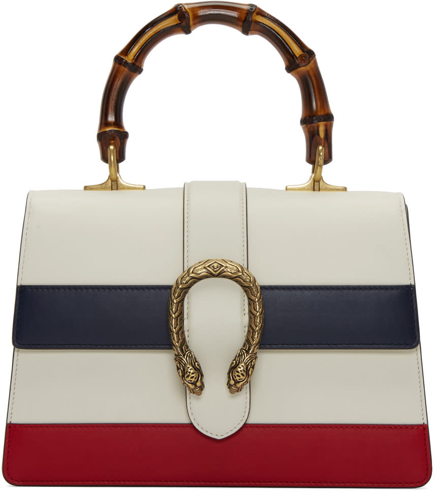 gucci female gucci white medium dionysus bag