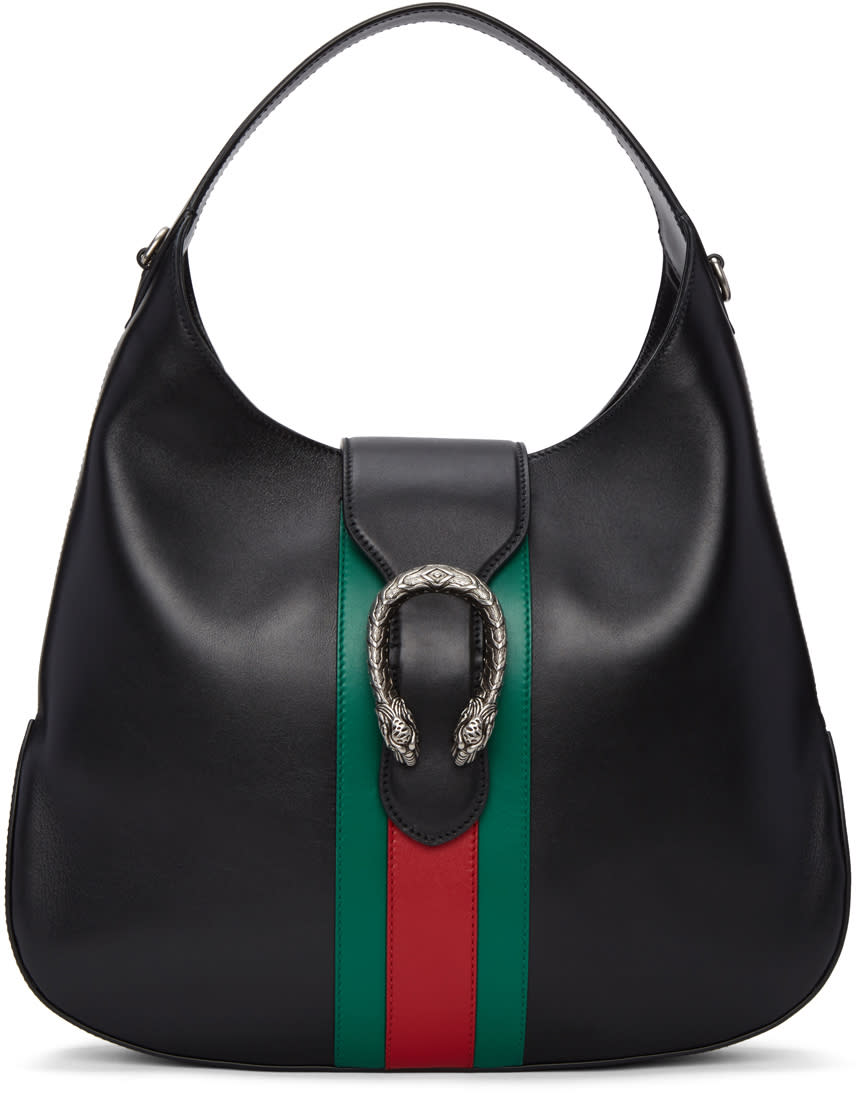 gucci female gucci black dionysus hobo bag