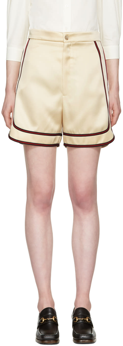 Image of Gucci Beige Bermuda Shorts