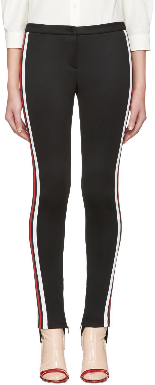 Gucci Black Sylvie Stirrup Leggings