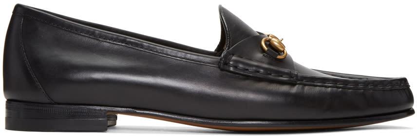 Gucci Black Frame Loafers