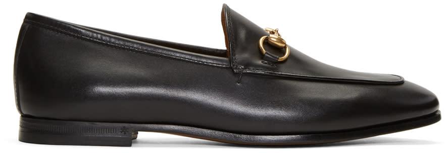 13d7ab94d0e Gucci Black Jordaan Loafers
