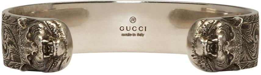 Gucci Silver Tiger Cuff