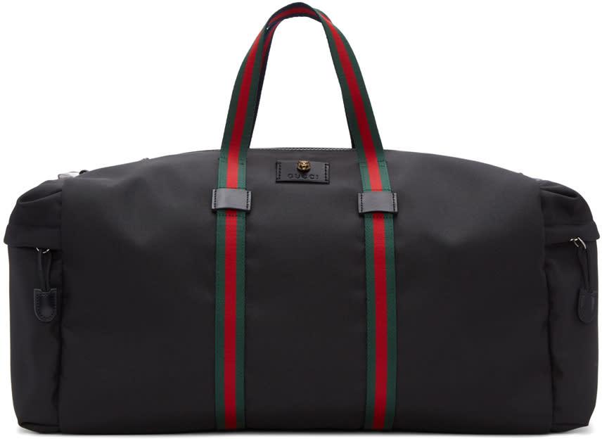 Gucci Black Techpack Duffle Bag