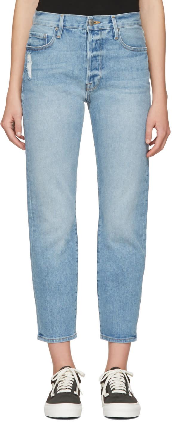 Frame Denim Blue Le Original Jeans