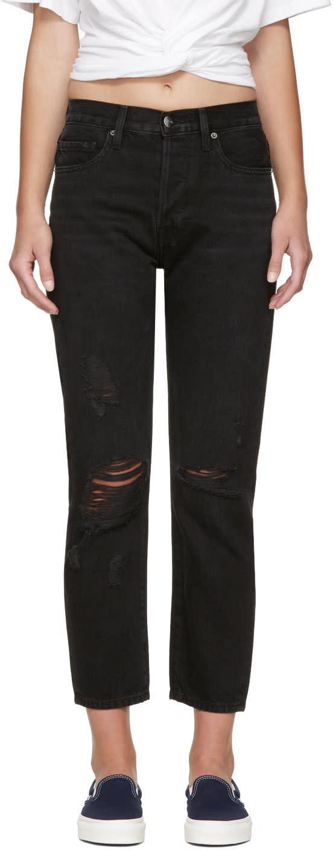 Frame Denim Black Le Original Jeans