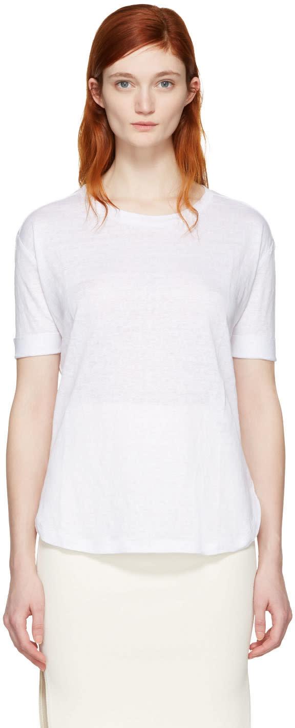 Frame Denim White True T-shirt
