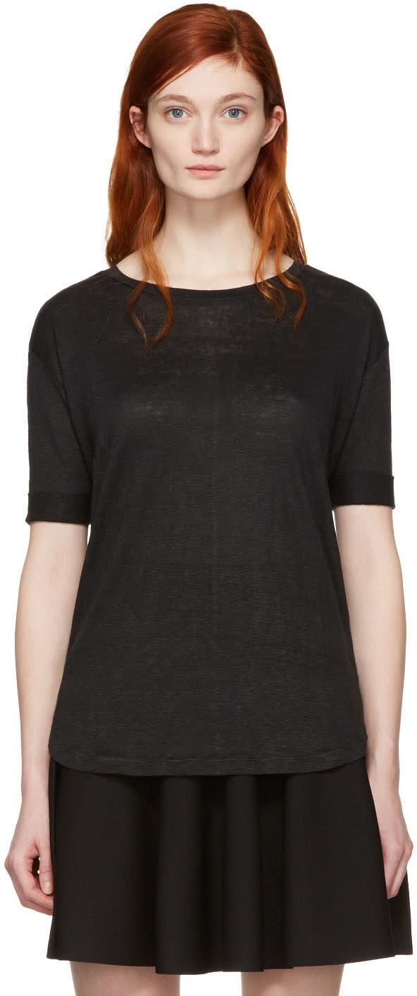 Frame Denim Black True T-shirt